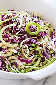 Spiral Apple Slaw Recipe