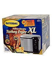 Best Indoor Stainless Steel Turkey Fryers | Butterball Indoor Electric Turkey Fryer XL - Turkeys up to 20 lbs