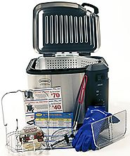 Best Indoor Stainless Steel Turkey Fryers | Masterbuilt 23013414 Butterball Indoor XL Fryer with Large Accessory Pack