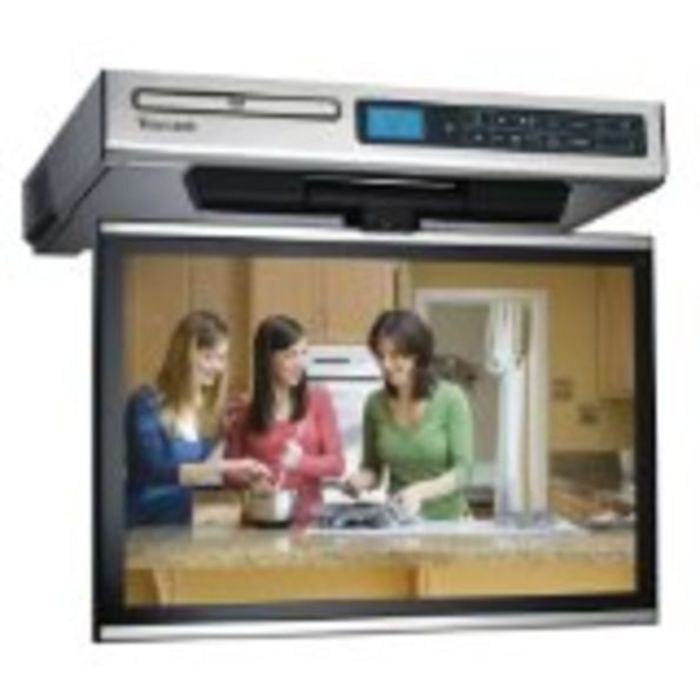Best Under Cabinet Tvs For Kitchen, Tv Dvd Combo Or Tv Radio Combo 2015  Reviews Philips, Venturer, Samsung, Audiovox... | A Listly List