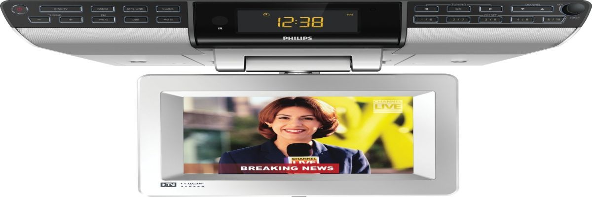 Best under cabinet tvs for kitchen, tv dvd combo or tv radio combo ...