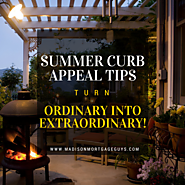 Top Real Estate Articles to Recommend to Your Clients | Summer Curb Appeal Tips: Turn Ordinary into Extraordinary!