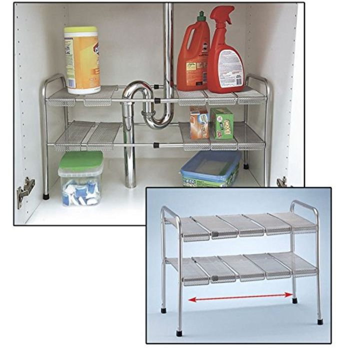 The Ideal Kitchen Under Sink Drawers: Best Under Kitchen Sink Organizer Shelf Reviews And