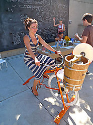 b004 | Ice Cream Bike — Pedal Powered Ice Cream Maker