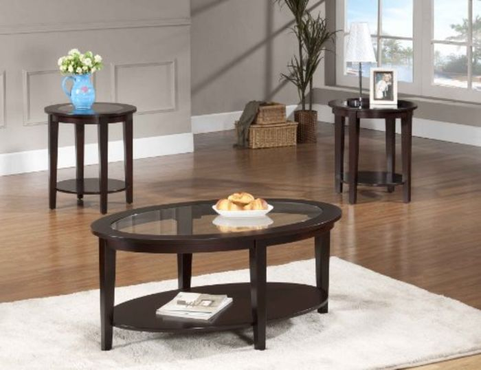 Solid wood coffee table and end table sets a listly list for Real wood coffee table sets