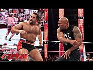 Entertaining Wrestling Videos | The Rock confronts Rusev: Raw, Oct. 6, 2014