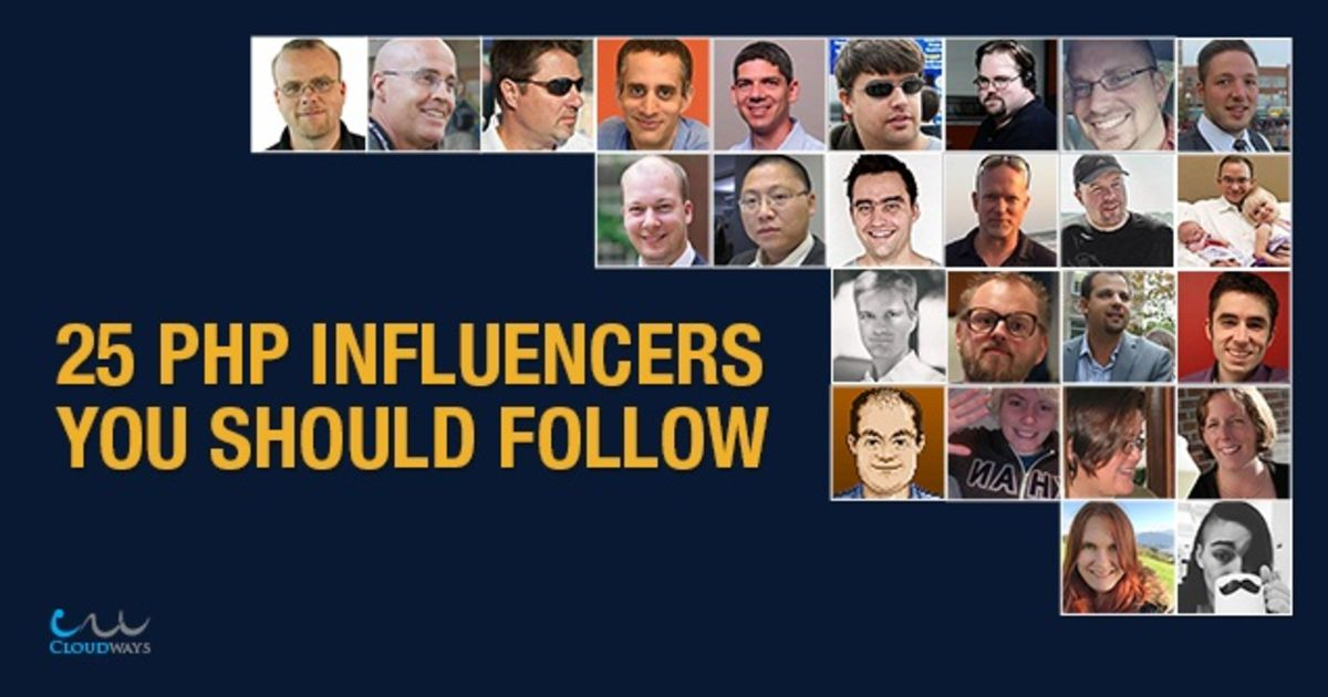 PHP Influencers You Should Follow