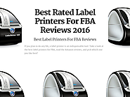 Best Rated Label Printers For FBA Reviews | Best Label Printers For FBA Reviews