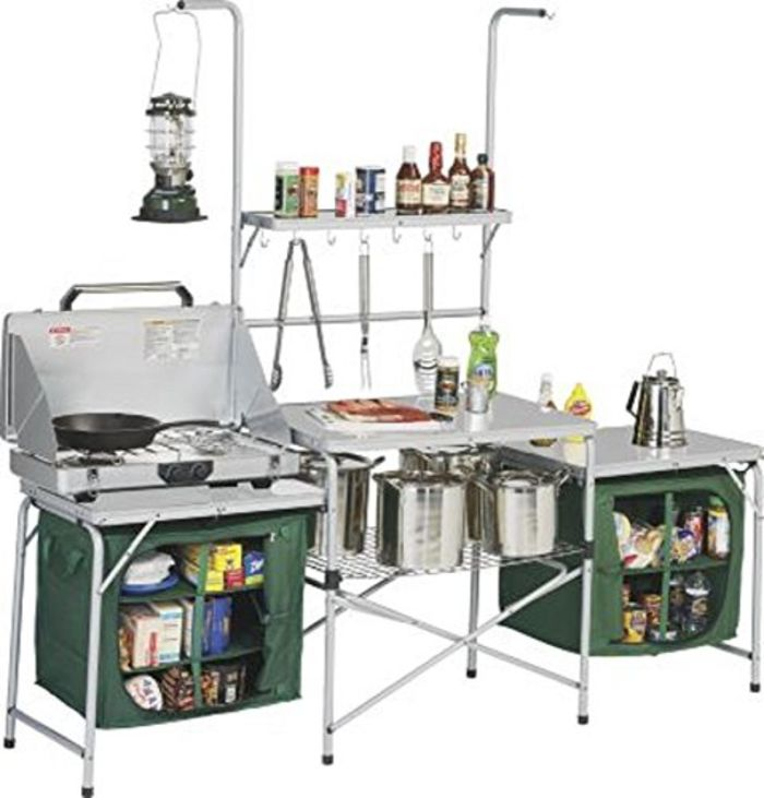 Kitchen Organization List: Best Folding Camping Kitchen With Storage