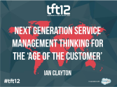 The TFT12 Slides [content] via Slideshare