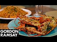 2015 Canadian Thanksgiving Turkey Alternatives! | Grilled Lobster with Bloody Mary Linguine - Gordon Ramsay