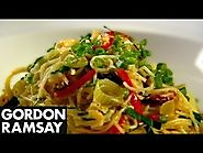 2015 Canadian Thanksgiving Turkey Alternatives! | Pasta with Crab, Chilli and Lime - Gordon Ramsay