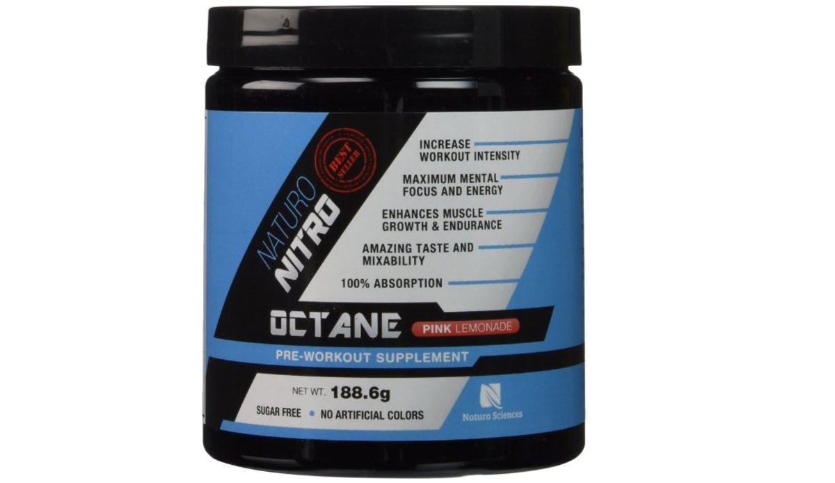 Headline for Everything to do with Naturo Nitro Pre Workout Octane Pre Workout Supplement