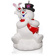 Winter Snowman Christmas Ornaments | Hallmark Keepsake Ornament: FROSTY THE SNOWMAN The Magic of Friendship