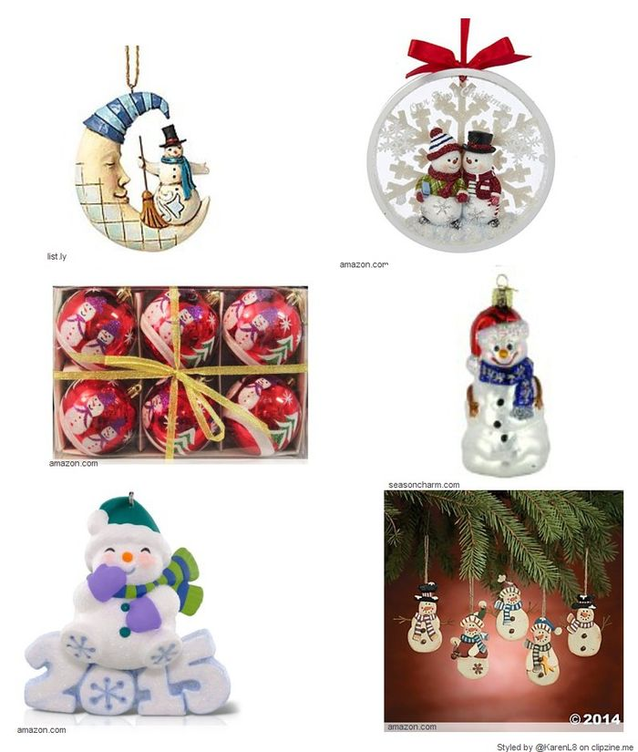 Winter snowman christmas ornaments a listly list List of christmas ornaments