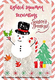 Winter Snowman Christmas Ornaments | Snowman Christmas Decoration Ideas - Christmas Ornaments