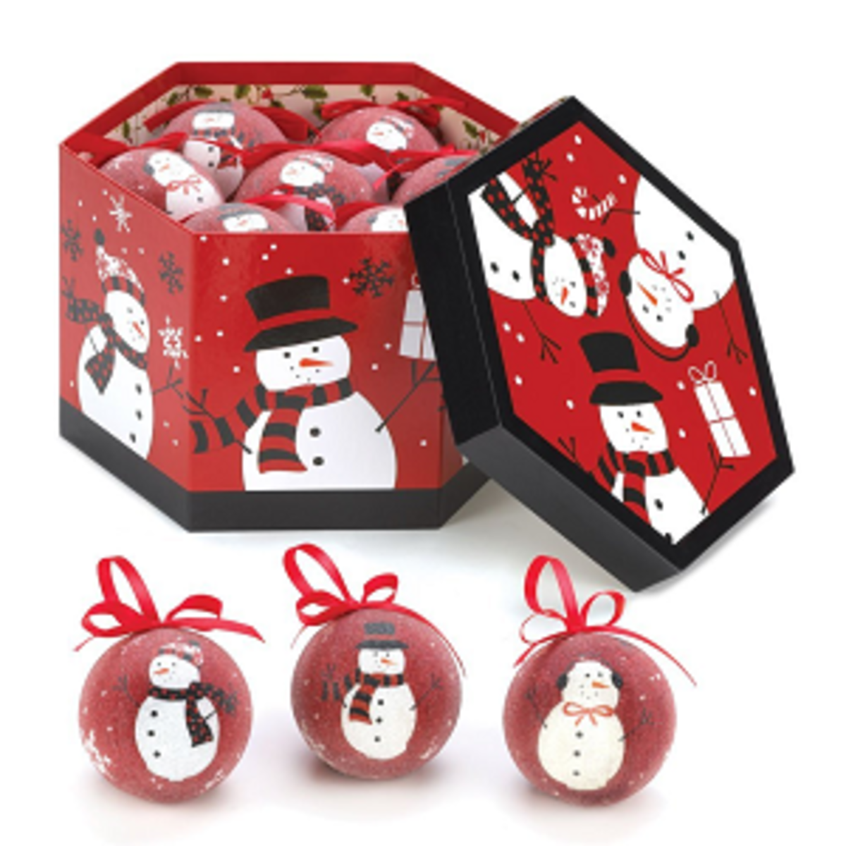 Headline for Winter Snowman Christmas Ornaments