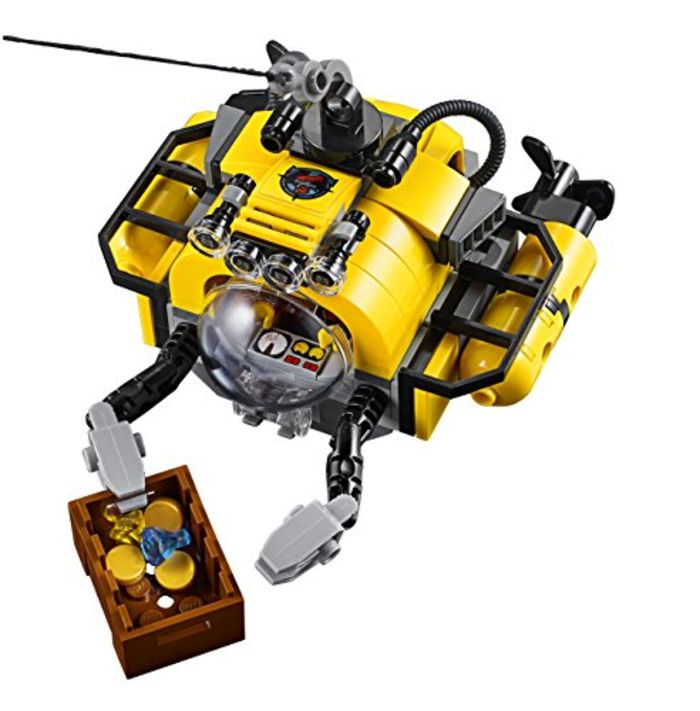 Lego City Deep Sea Explorers  Submarine Building Kit