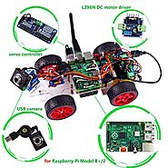 Best Rated Raspberry Pi Robot Kits Reviews | SunFounder Smart Video Car Kit for Raspberry Pi Model B+ (Pi Not Included)