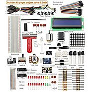 Best Rated Raspberry Pi Robot Kits Reviews | Sunfounder Project Super Starter Kit for Raspberry Pi 2 & Model B+ w/ 40-Pin GPIO Extension Board, GPIO Cable, H-...