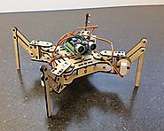 Best Rated Raspberry Pi Robot Kits Reviews | Meped Mini Quadruped Robot Deluxe Kit - Arduino Hexapod Robotic Walker