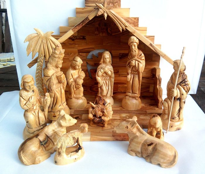 Outdoor Christmas Nativity Sets