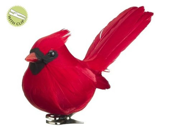 Christmas decorations red birds : Beautiful red bird christmas ornaments a listly list
