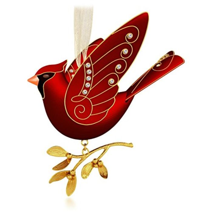 Christmas Decorations Red Birds : Beautiful red bird christmas ornaments on flipboard
