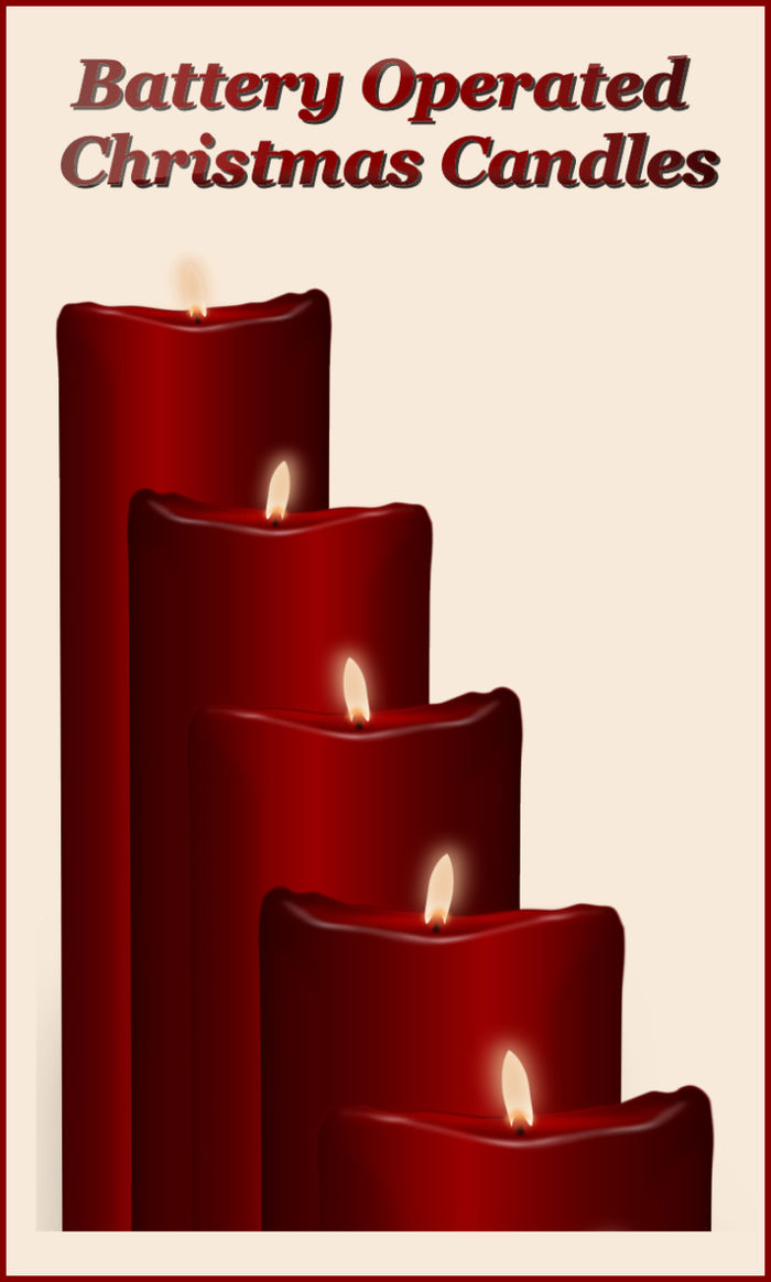 Best Battery Operated Taper Candles A Listly List