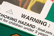 Be on the lookout for choking hazards.