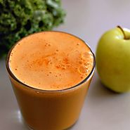 Healthy & Yummy Carrot Juice Recipes | Kale, Carrot and Apple Calcium Booster Juice