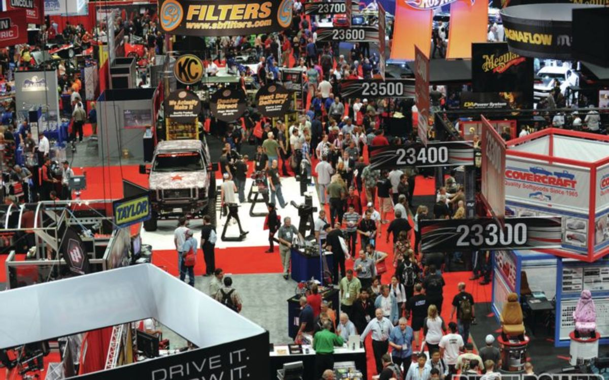 Headline for 2015 SEMA Show : Ten Best New Performance Products