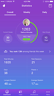 Meditation apps to help you get into regular practice | Sattva