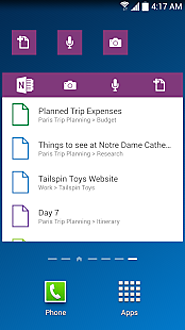 Top 10 note taking apps for Android in 2015 | OneNote - Android Apps on Google Play