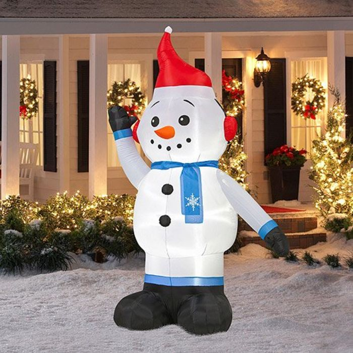 Cheap Inflatable Yard Decorations: Cheap Mickey Mouse Christmas Inflatable