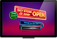 Sky Technical Support Help and Guide | Sky Box Office: Ordering Box Office Movie Through Sky Store