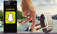 Huawei Launched The First Finger Race On Snapchat