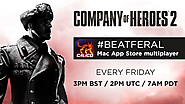 Join this weekly Company of Heroes 2 session for Mac App Store users