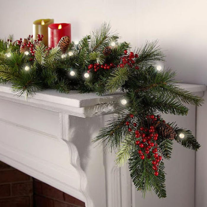Cheap Christmas Garland With Lights A Listly List