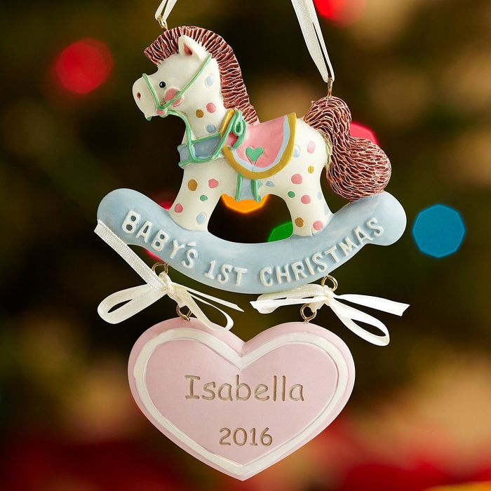 Best Personalized Baby's 1st Christmas Tree Ornaments for ...