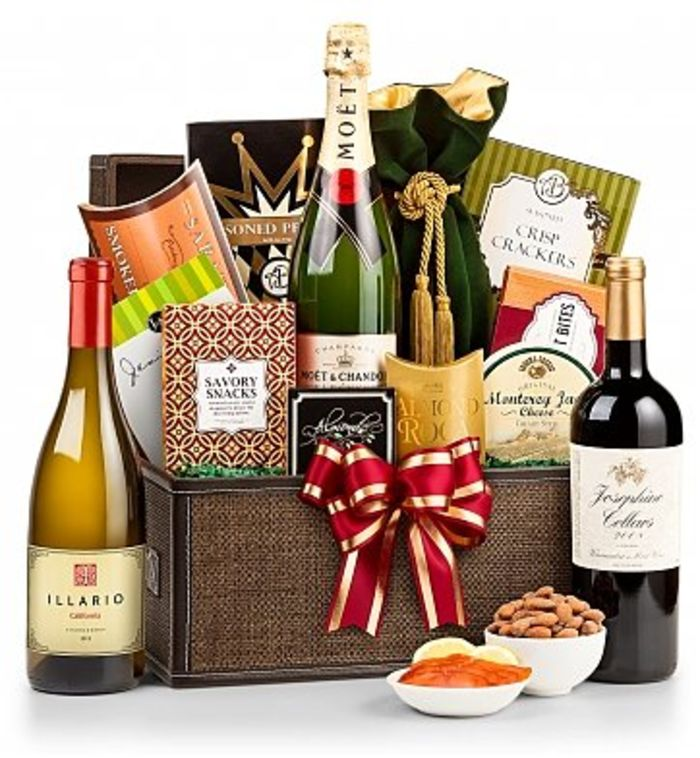 Best wine gift baskets for 2015 top corporate gift ideas for Best wine gift ideas
