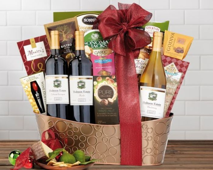 Best wine gift baskets for 2016 top corporate gift ideas for Best wine gift ideas