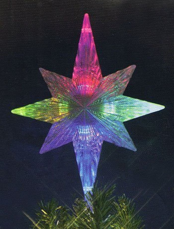 Cheap Lighted Star Christmas Tree Topper A Listly List
