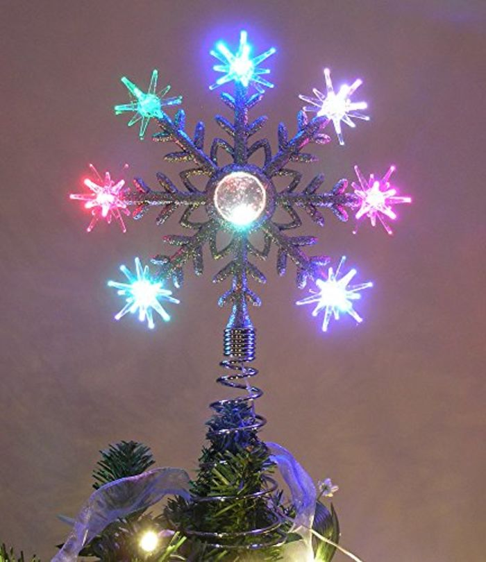 Christmas Tree With Color Changing Led Lights