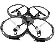 Best Rated RTF Quadcopters Reviews | UDI U818A 2.4GHz 4 CH 6 Axis Gyro RC Quadcopter with Camera RTF Mode 2