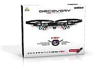 Best Rated RTF Quadcopters Reviews | *Latest UDI 818A HD+ RC Quadcopter Drone with HD Camera, Return Home Function and Headless Mode* 2.4GHz 4 CH 6 Axis G...