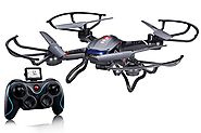 Best Rated RTF Quadcopters Reviews | Holy Stone F181 RC Quadcopter Drone with HD Camera RTF 4 Channel 2.4GHz 6-Gyro Headless System, Black