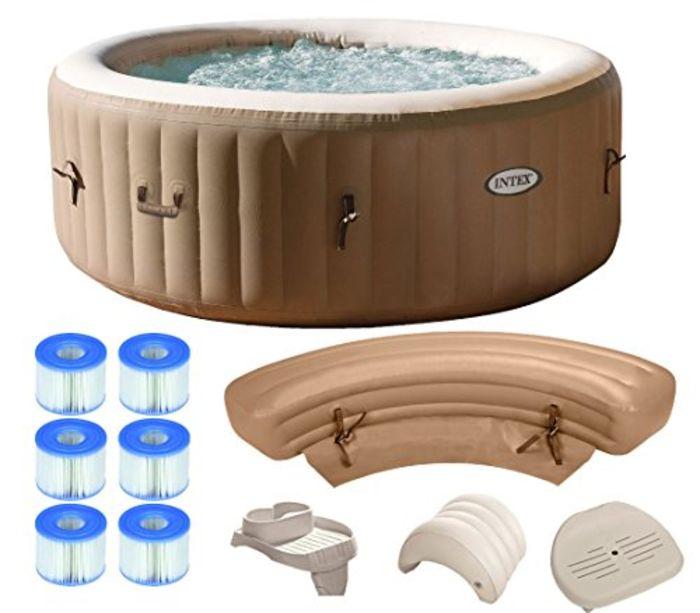 cheap intex purespa inflatable hot tub a listly list. Black Bedroom Furniture Sets. Home Design Ideas