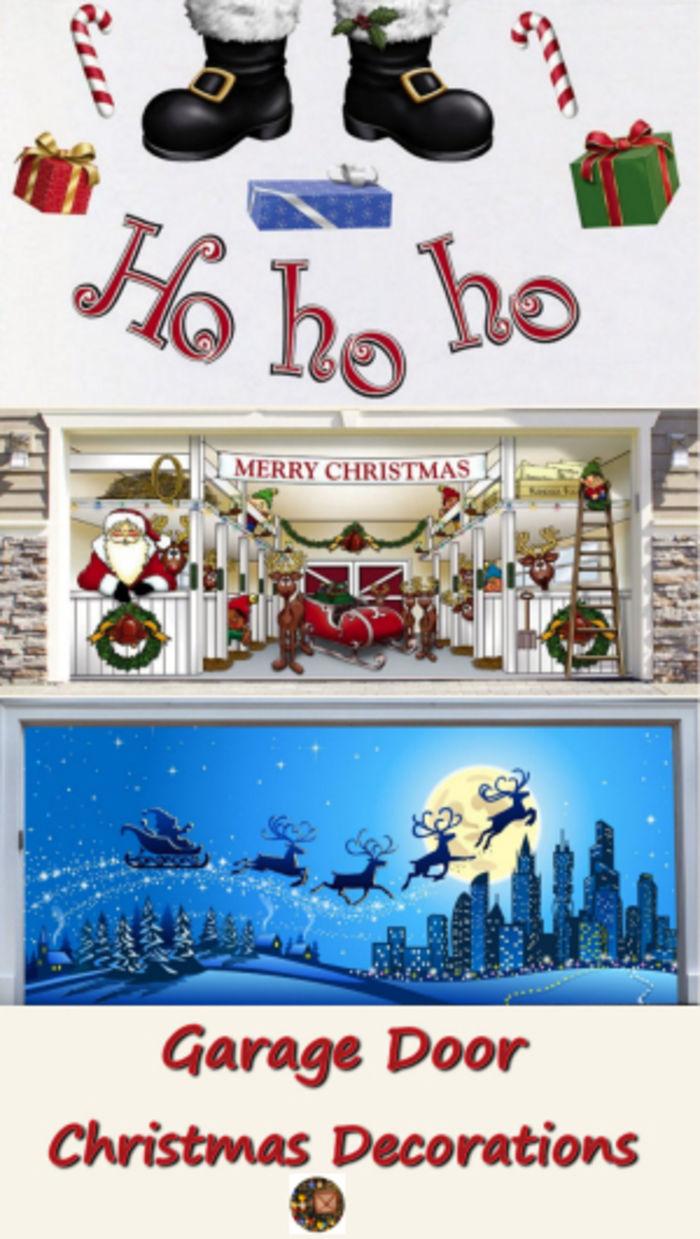 Garage door christmas decorations - Garage Door Christmas Decorations 35