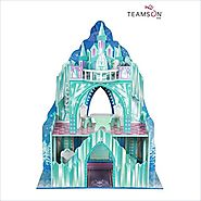 Gifts for Preschoolers | Teamson Design Corp Kid's Ice Mansion Doll House